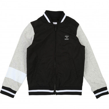 Dual-material bomber jacket DKNY for BOY
