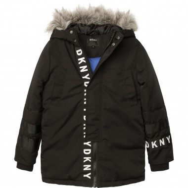 Water-resistant hooded parka DKNY for BOY