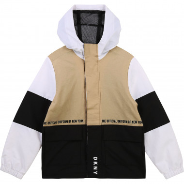 HOODED JACKET DKNY for BOY