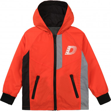 Reversible waterproof jacket DKNY for BOY