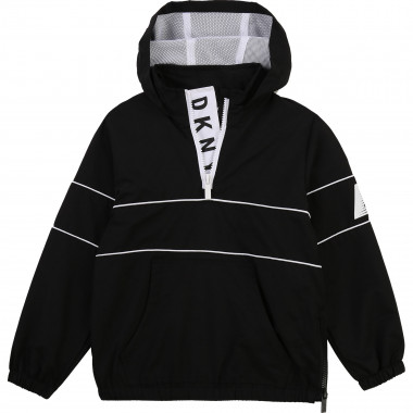 Water-repellent hooded jacket DKNY for BOY