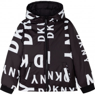 Water-resistant hooded jacket DKNY for BOY