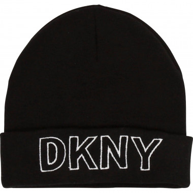 Knit logo hat DKNY for GIRL