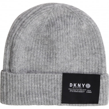Wool-blend ribbed beanie DKNY for GIRL