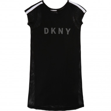 2-in-1 dual-material dress DKNY for GIRL