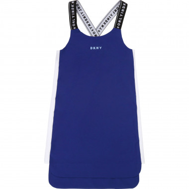 Light dress with logo straps DKNY for GIRL