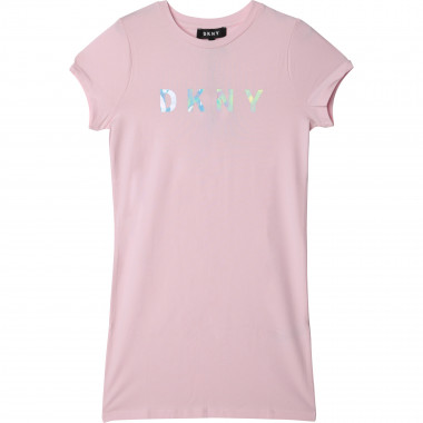 Short-sleeved straight dress DKNY for GIRL