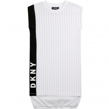 Sleeveless novelty dress DKNY for GIRL