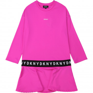 Flared jersey dress DKNY for GIRL