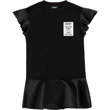 Novelty dress with sleeves DKNY for GIRL