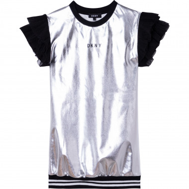 Dress with novelty sleeves DKNY for GIRL