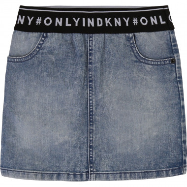 DENIM SKIRT DKNY for GIRL