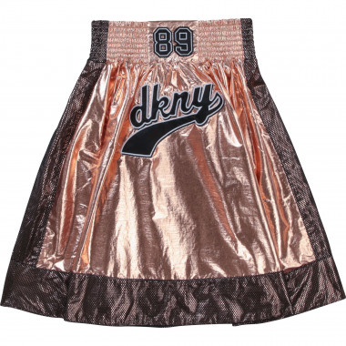 Flared skirt with mesh DKNY for GIRL