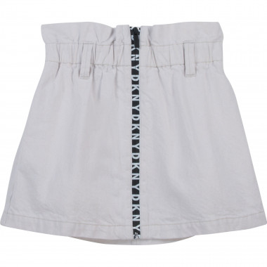 Drill skirt with badge DKNY for GIRL