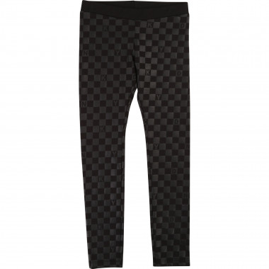 Stretch cotton jersey leggings DKNY for GIRL