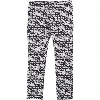 Leggings with 3D print DKNY for GIRL