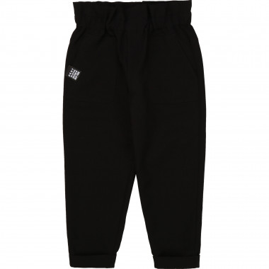 Novelty twill trousers DKNY for GIRL