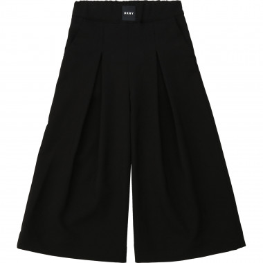 Wide-legged twill trousers DKNY for GIRL