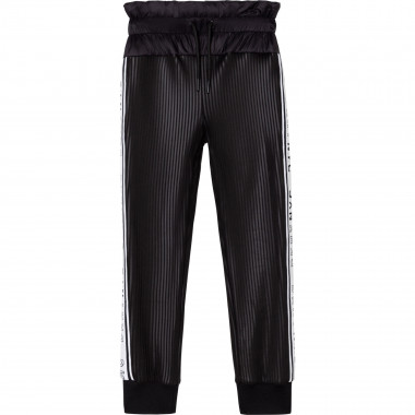 Elasticated striped trousers DKNY for GIRL