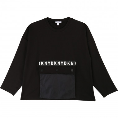 T-shirt with removable pocket DKNY for GIRL