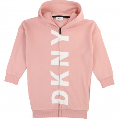 Long hooded cardigan DKNY for GIRL