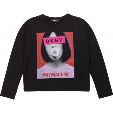 LONG SLEEVE T-SHIRT DKNY for GIRL