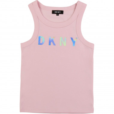 Vest top in fine rib DKNY for GIRL