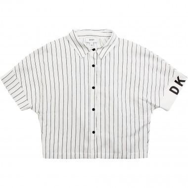 Short striped shirt DKNY for GIRL