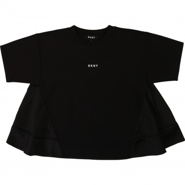 Dual-material formal blouse DKNY for GIRL