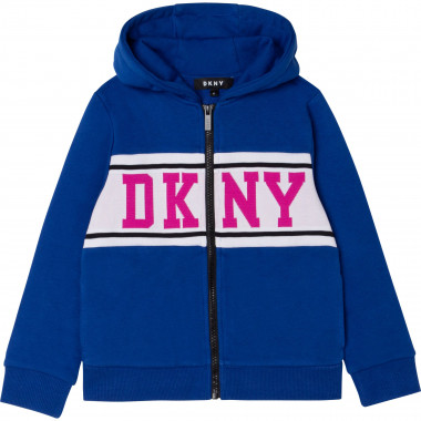HOODED CARDIGAN DKNY for GIRL