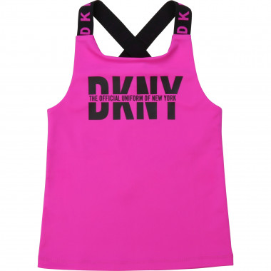 Vest top with crossed straps DKNY for GIRL