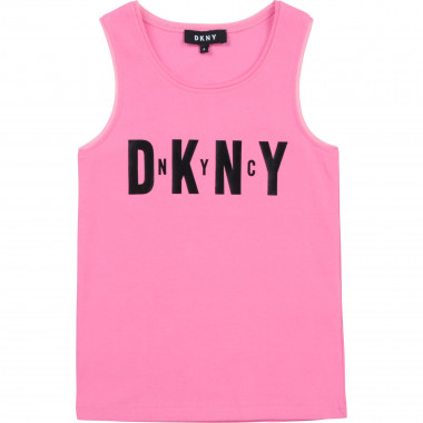 Vest top with mesh details DKNY for GIRL
