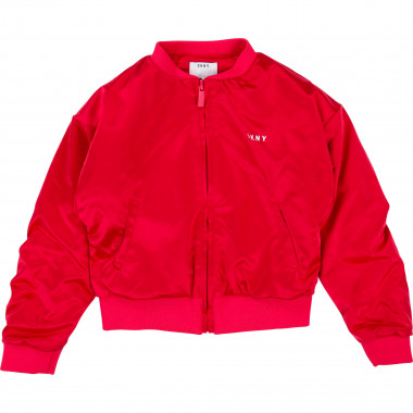 Satin jacket DKNY for GIRL