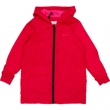 Long nylon parka DKNY for GIRL
