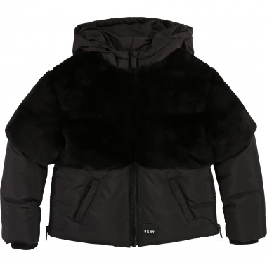 Fur jacket DKNY for GIRL