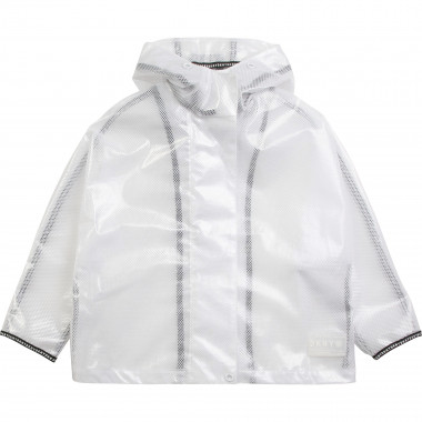 Transparent hooded raincoat DKNY for GIRL