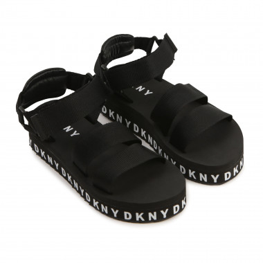 Sandals with logo DKNY for GIRL