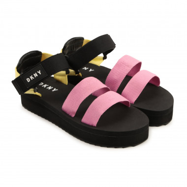 Hook-and-loop sandals DKNY for GIRL