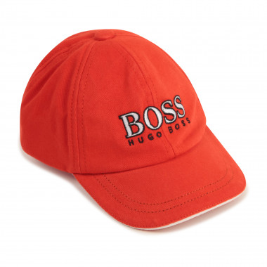 Embroidered 100% cotton cap BOSS for BOY