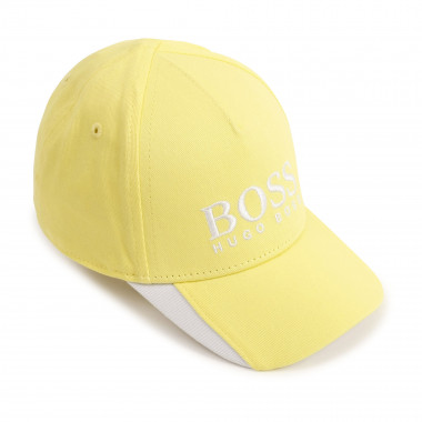 Cotton twill cap BOSS for BOY
