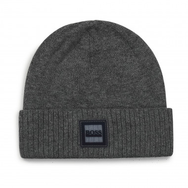 Cotton knit round hat BOSS for BOY