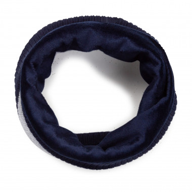 Knitted snood in lined cotton BOSS for BOY