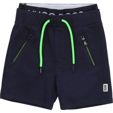 Lined fleece Bermuda shorts BOSS for BOY