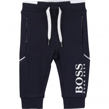 Fleece joggers BOSS for BOY
