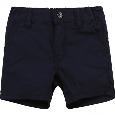 Cotton twill bermudas BOSS for BOY