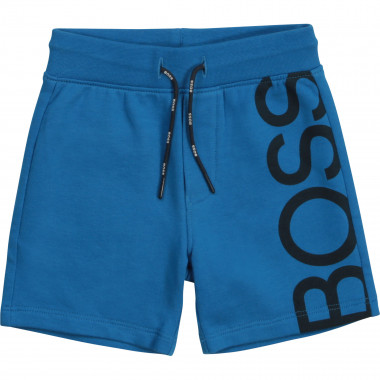 Fleece Bermuda jogging shorts BOSS for BOY