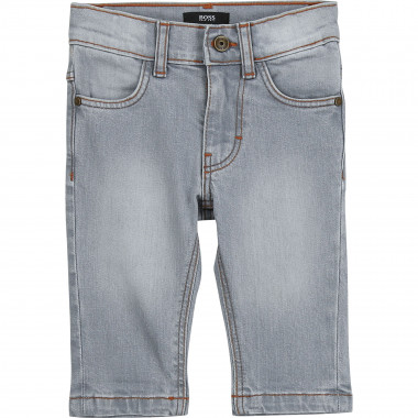 Slim fit stretch cotton jeans BOSS for BOY