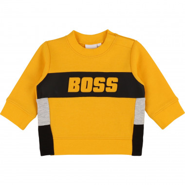 Colour block sweatshirt BOSS for BOY