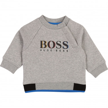 Relief-effect sweatshirt BOSS for BOY
