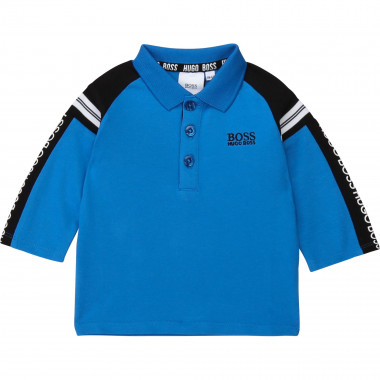 Polo with logo bands BOSS for BOY